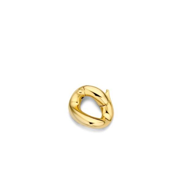 18k goud vergulde schakel van Ti Sento - Te koop bij Sparnaaij Juweliers in Aalsmeer en hoofddorp