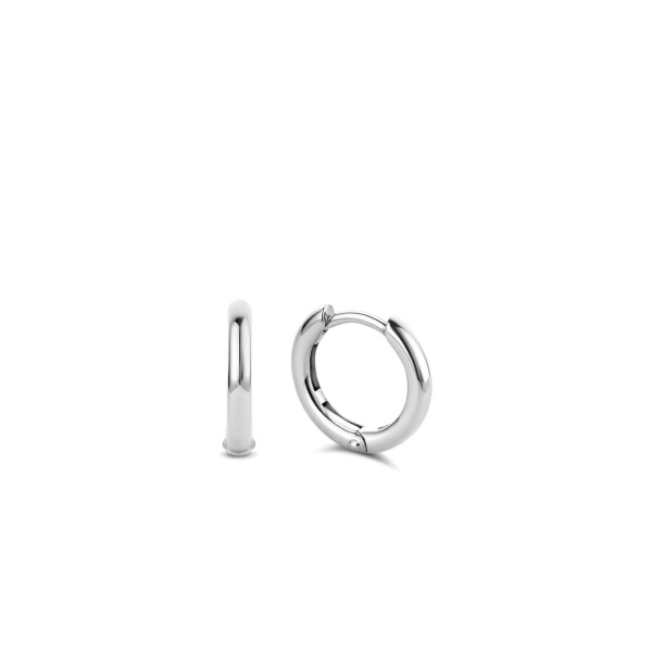 Zilveren creolen van Ti Sento - Te koop bij Sparnaaij Juweliers in Aalsmeer en Hoofddorp