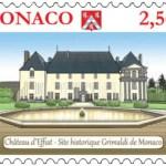 28 juin 2021 : LE CHÂTEAU D'EFFIAT HONORÉ PAR LES SERVICES POSTAUX MONÉGASQUES