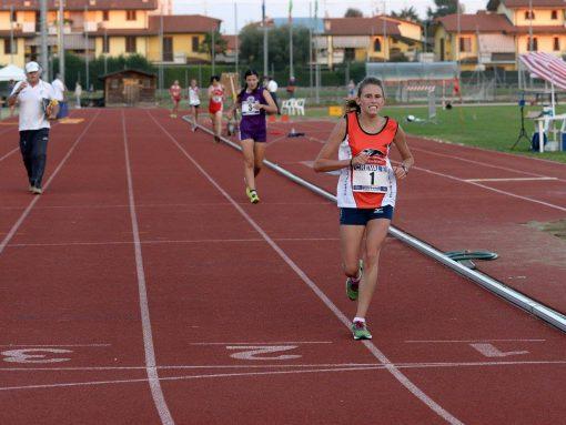 Martina Casiraghi ai Campionati Italiani di Marcia