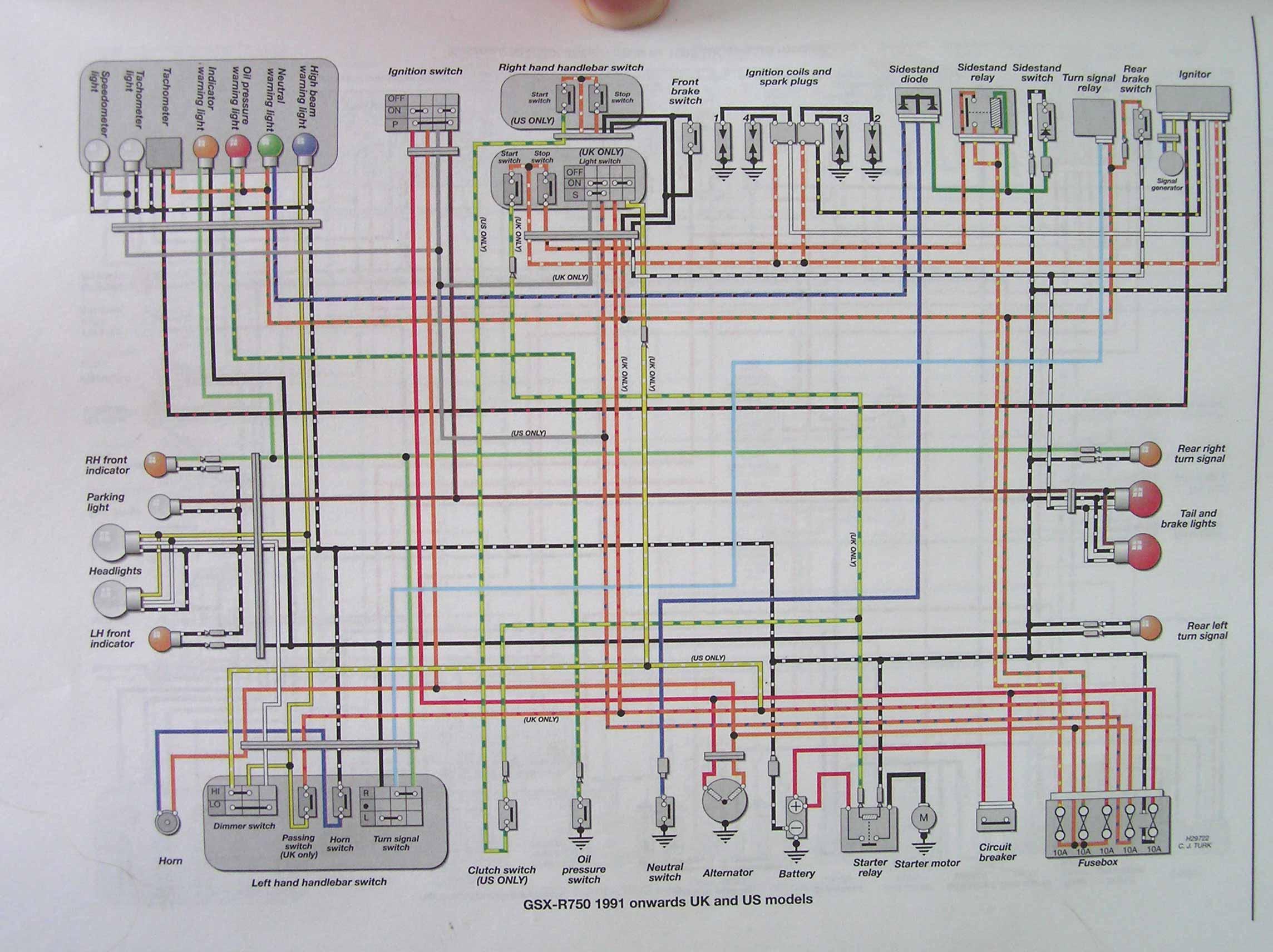 2010 Suzuki Gsxr 1000 Wiring Diagram - Wiring Diagram