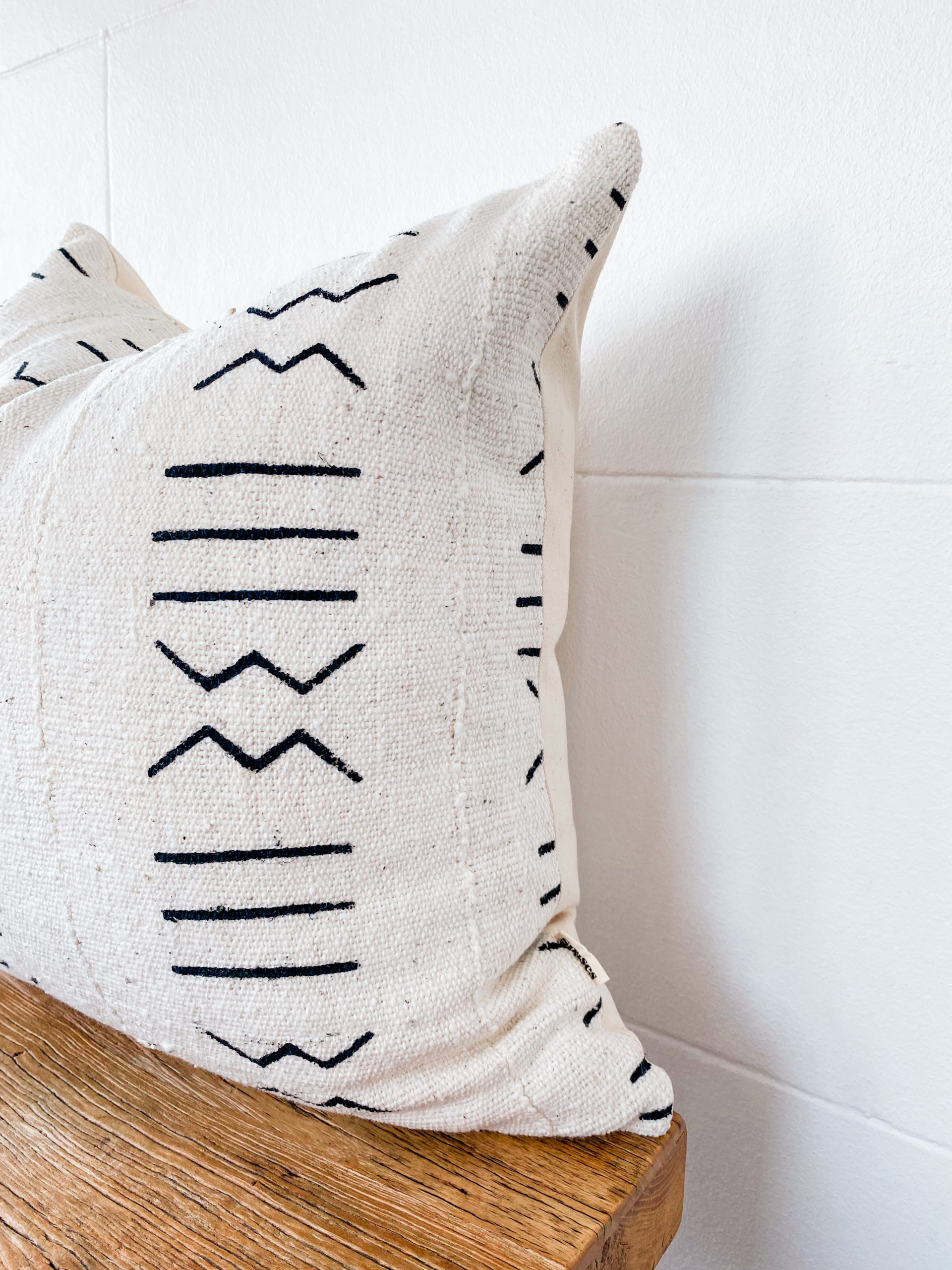 Mali mudcloth pillow Spases scatter cushion authentic