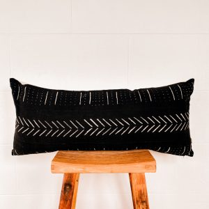 Mali mudcloth pillow Spases scatter cushion authentic South Africa