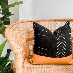 Mudcloth pillow throw pillow scatter cushion mali