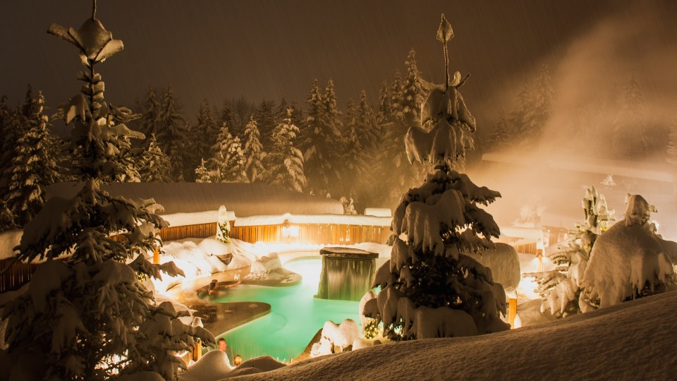 Summer View, Scandinave Spa Whistler, Spas of America