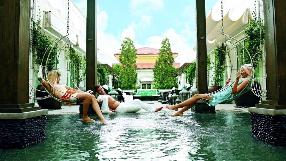 Eau Spa, Eau Palm Beach Resort & Spa, Spas of America