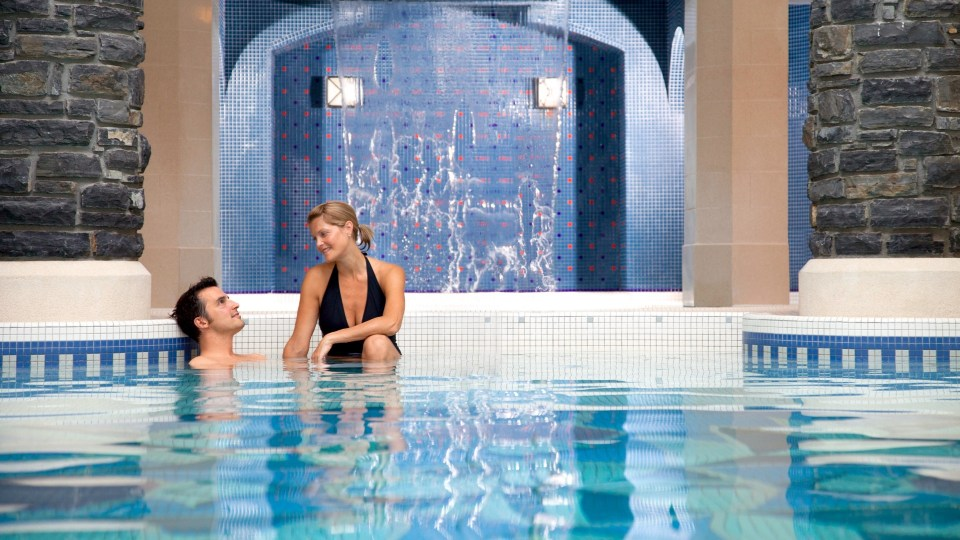 Couple, The Fairmont Banff Springs, Willow Stream Spa