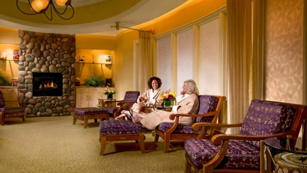 Relaxation Room, Skaná, The Spa at Turning Stone Resort, Spas of America