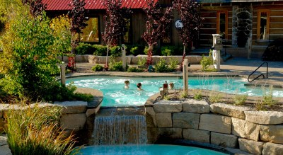Fall, Blue Mountain Scandinave Spa, Spas of America