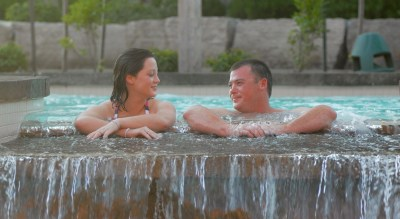Summer Couple, Blue Mountain Scandinave Spa, Spas of America
