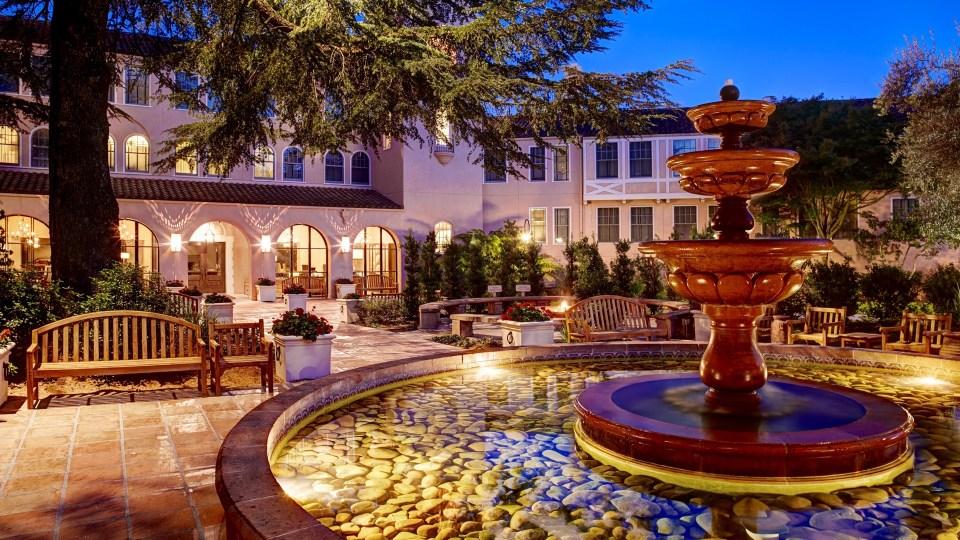 Willow Stream Spa, Fairmont Sonoma Inn & Spa, Spas of America