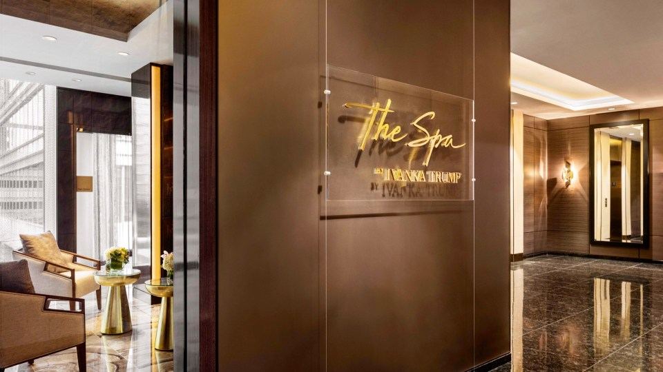 The Spa by Ivanka Trump, Trump Vancouver, Spas of America