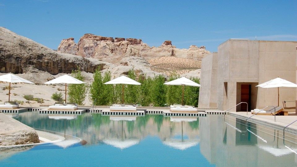 Amangiri, Pool, Spas of America