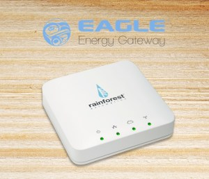 Photo of an Eagle energy monitor device