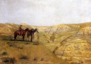 800px-Thomas_Eakins_Cowboys_in_the_Badlands
