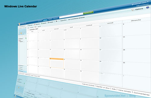 Windows Live Calendar
