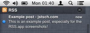 RSS.app notification center