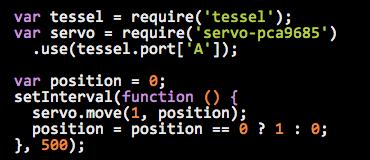 Tessel Code