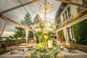 Matrimonio bio verde foglia a Villa Claudia dei Marchesi dal Pozzo 3