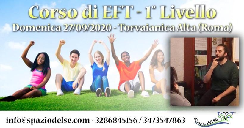 27/09/2020 - Corso di EFT - Roma