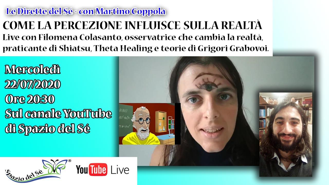 22/07/2020 - Come la percezione influisce sulla realtà - Dirette del Sé