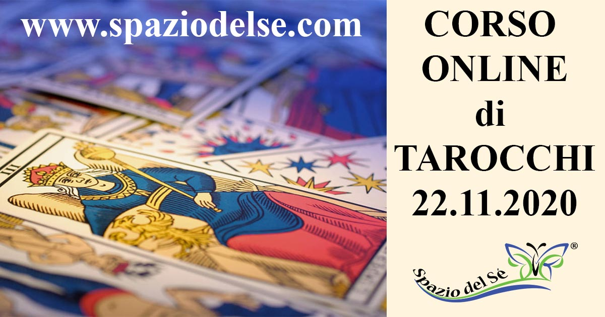 22/11/2020 - Corso Tarocchi online