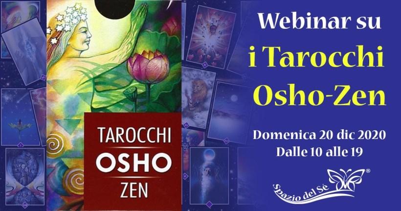 20/12/2020 - Webinar Tarocchi Osho-Zen