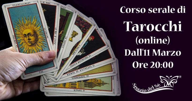 Dall'11/03/21 – Corso Serale Tarocchi (online)