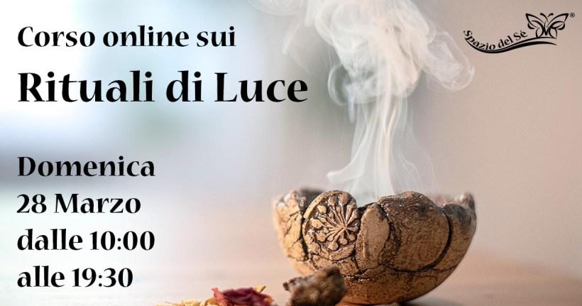 28/02/21 – Corso online sui Rituali di Luce