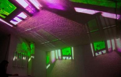 Della Marina e Zucchi - The Dream - sound and light environment - Spazioersetti - foto Lara Carrer