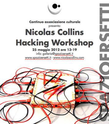 workshop with Nic Collins - flyer