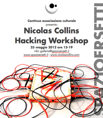 workshop with Nic Collins - flyer