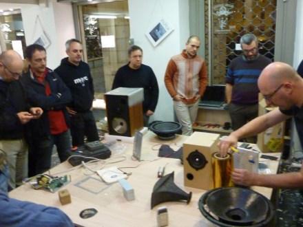 Loudspeaker 1.0 - workshop sulla costruzione di altoparlanti con Giorgio Tomasini - foto di Lara Carrer
