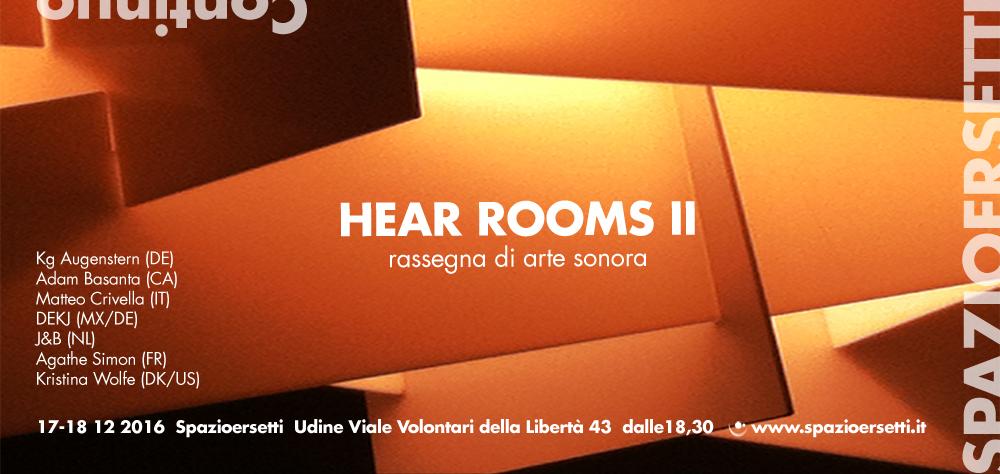 Hear Rooms II