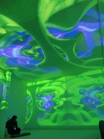 A Place To Play - installazione di suono e luce dal vivo - Spazioersetti