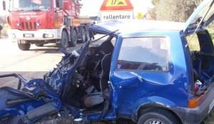 incidente lucera 9-12-2014