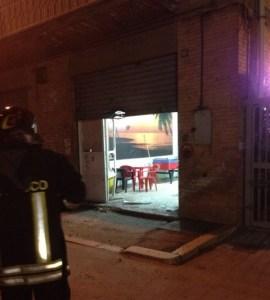 Bomba in via Pasubio lucera 11 aprile 2015