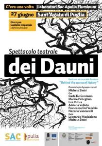 Dei Dauni_Spettacolo Teatrale_27 Giugno_Sant'Agata di Puglia (2)