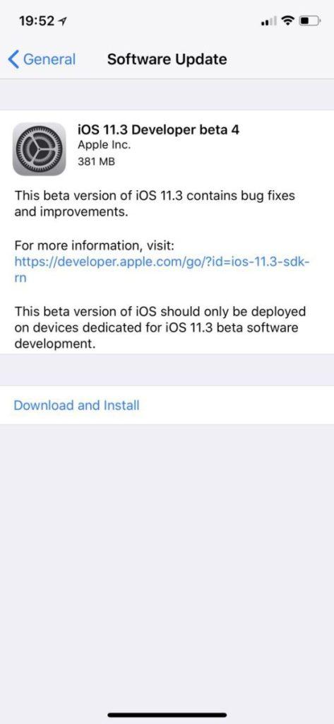 Beta Developer 4