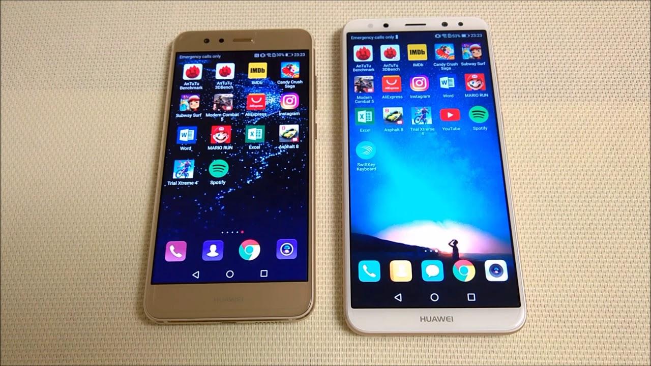 huawei p8 lite 2019 vs iphone 6s
