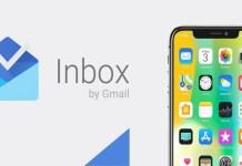 Google Inbox iPhone X