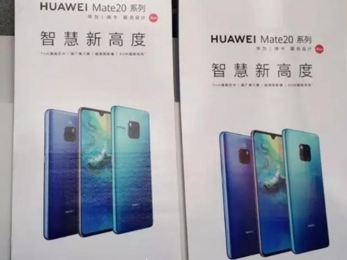 Poster Pubblicitari Huawei Mate 20/ Mate 20 Pro