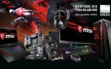 MSI partecipa alla MGW18