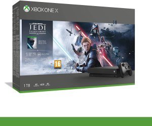 Xbox One X - Bundle Star Wars Fallen Jedi Order