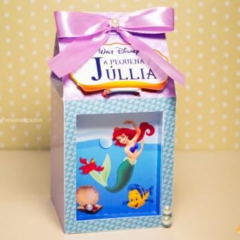 Papelaria Pequena Sereia (Princesa Ariel)