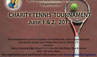 Charity Tennis Tournament 2013