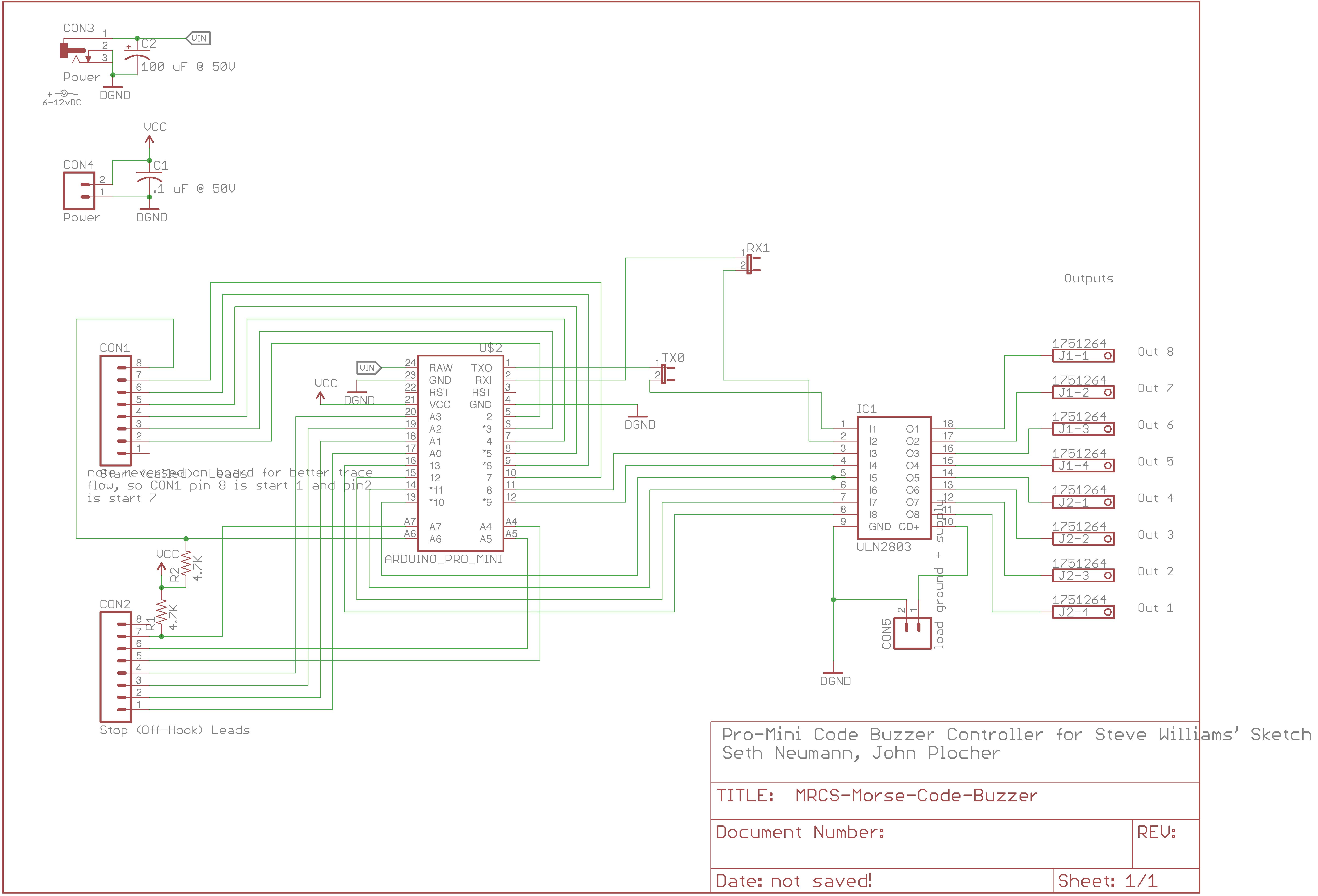 Mrcs Morse Code Buzzer