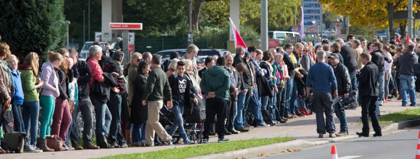 "Das Hattinger Bündnis ""Buntes Hattingen gegen rechts"""