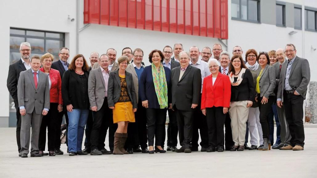 Unser SPD-Team aus Hattingen für den Stadtrat und den En-Kreis (2014)