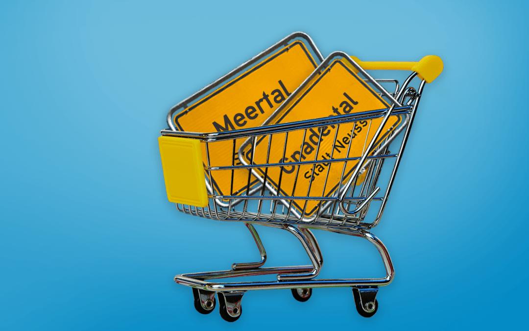 Ausreichend Platz zum Einkaufen schaffen